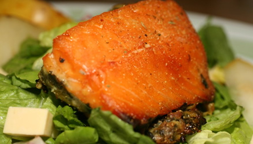 Purslane contains Omega-3 fatty acids, also found in salmon.