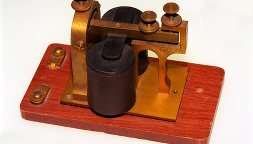 A way to make your own telegraph