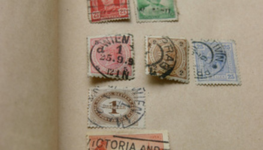 Check on the Internet to research the value of your stamp.