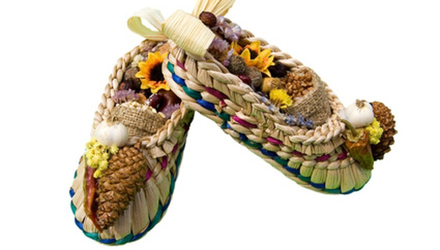 Make moccasins for your baby.