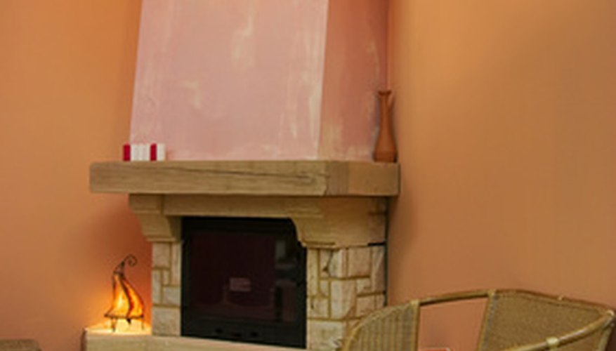 Fireplace inserts maintain heat and keep a room warm.