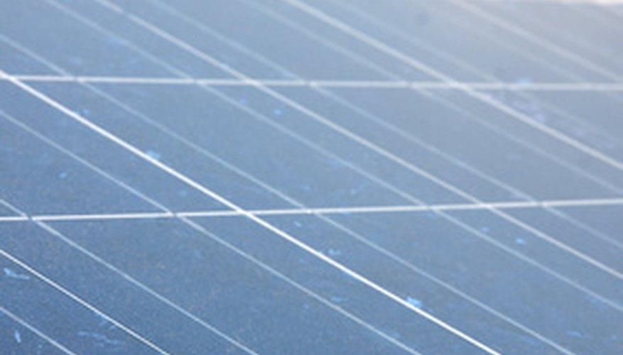 Properly angled solar panels produce optimum energy.
