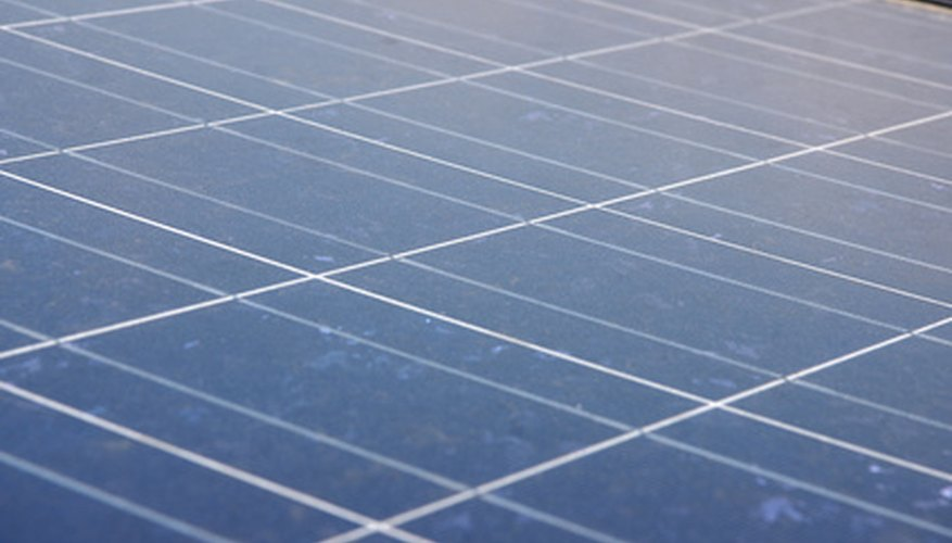 Solar panels are an environmentally friendly way to power your utilities.