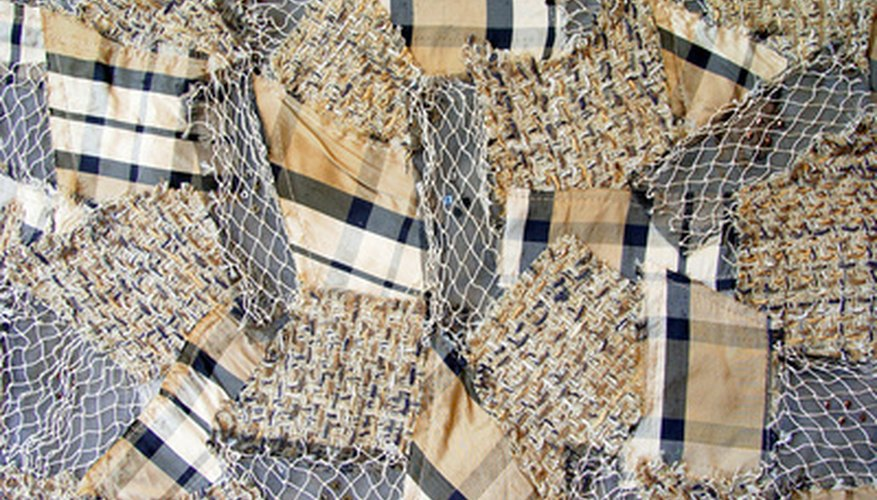 Turn fabric scraps into something new with pin weaving.