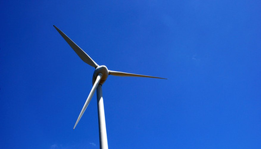Windmills are beginning to be connected to home generator systems.