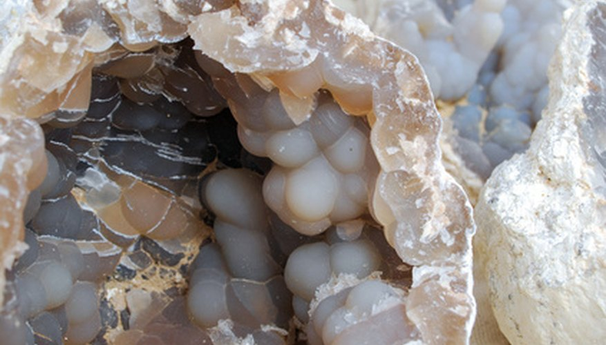 Geodes are a nifty find for rock-hunters.
