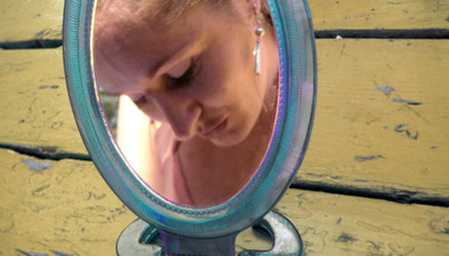 A concave mirror can magnify objects.