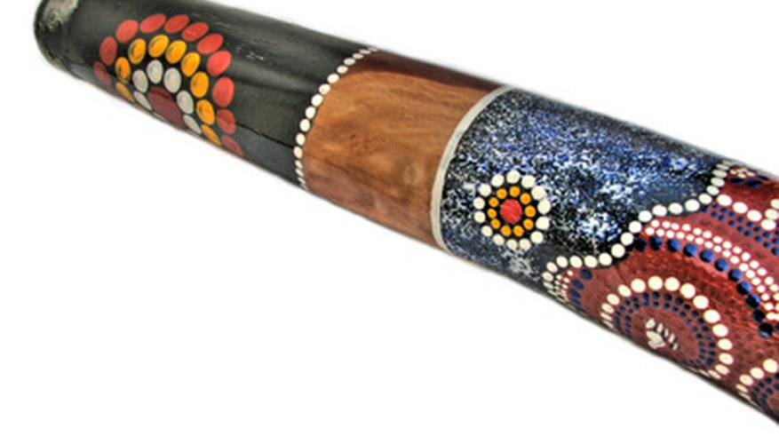 With cardboard tubes kids can make their own didgeridoo.