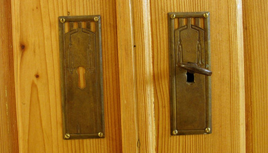 Replace cabinet doors for an inexpensive alternative to replacing the entire cabinet.