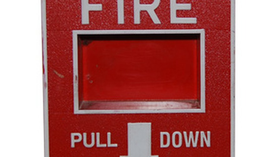 Manual Fire Alarm Box