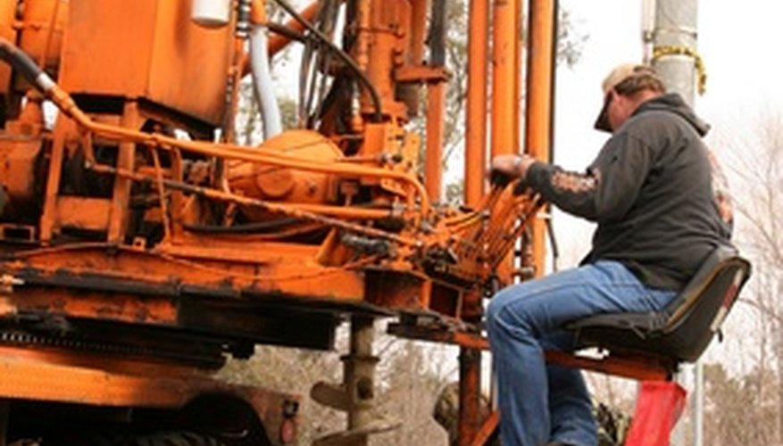 Soil investigations can involve large drilling rigs like this one, but not often.