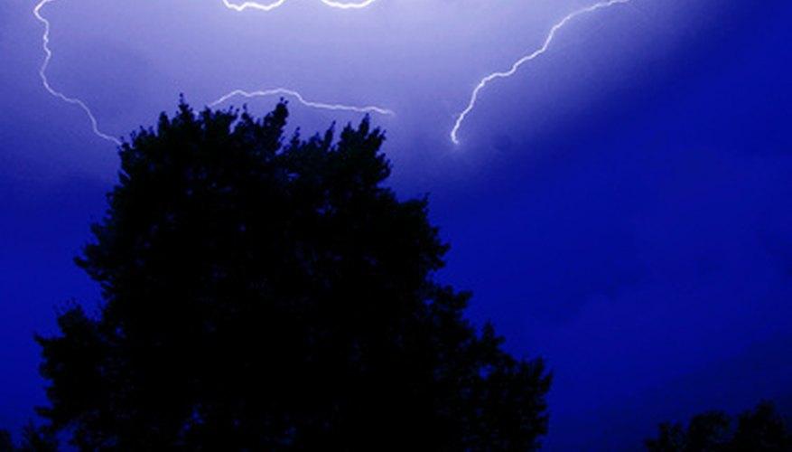 Lightning is as dangerous as it is beautiful.