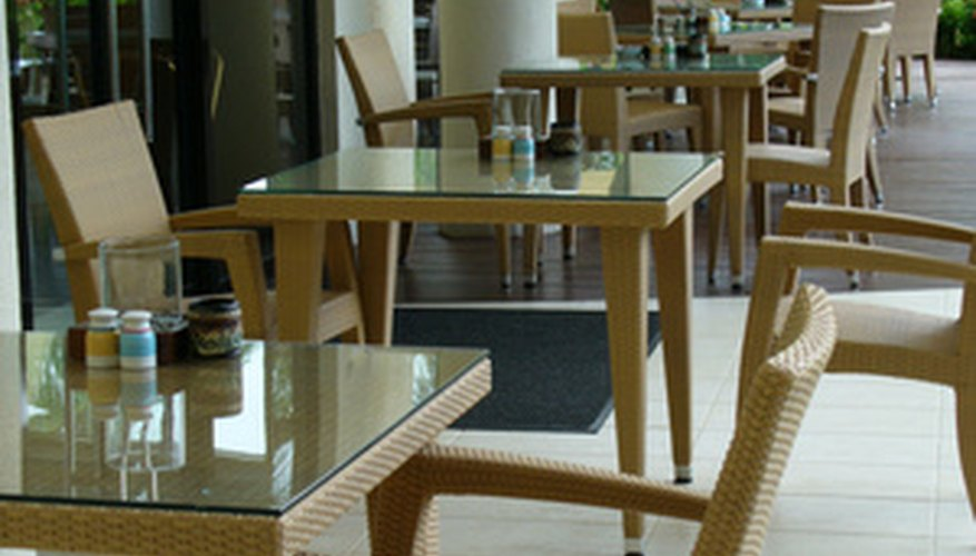 Bamboo furniture is durable enough to last indoors and outside.