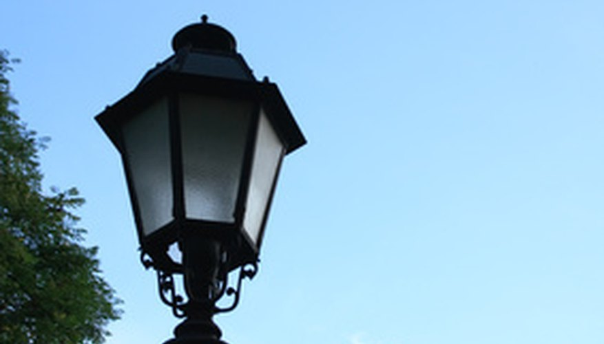 Outdoor Light Post