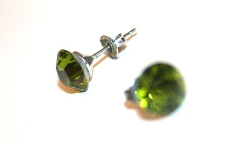 Screw-back earrings can be uncomfortable to wear for long periods.
