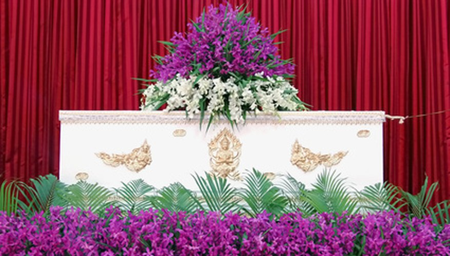 The funeral business requires careful planning.