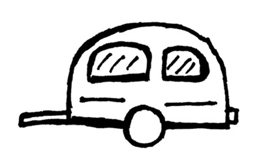A pattern for a typical camper trailer