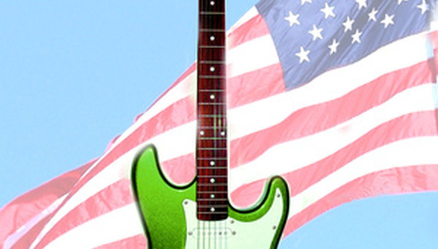 The ubiquitous Stratocaster design remains an icon of American popular music.
