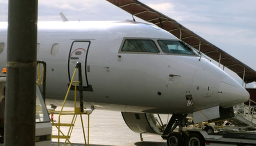 Within an airline, organizations push responsibility down to smaller operating units.