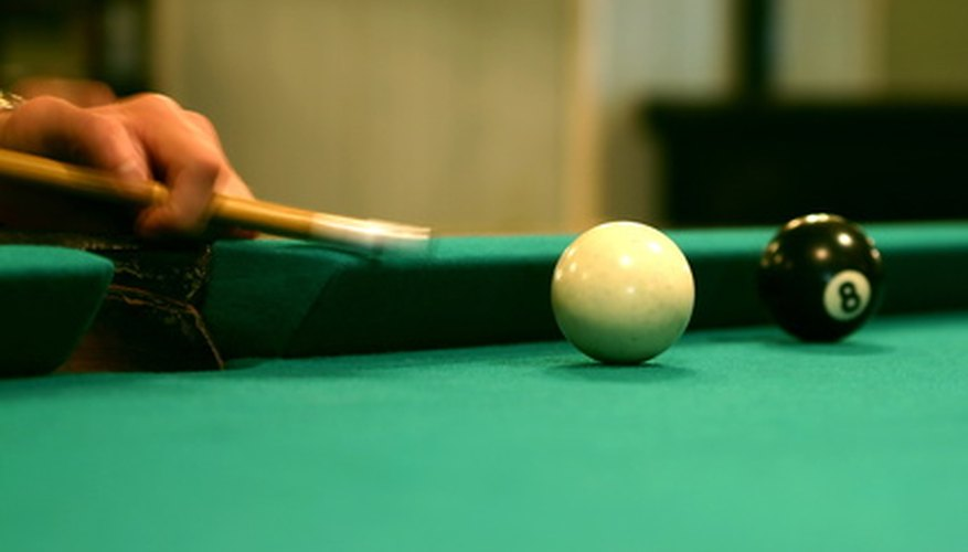 Straight eight ball is slightly different than traditional eight ball.