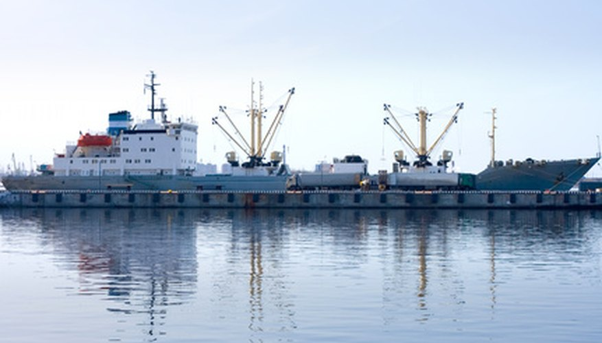 Ocean freight may be part of the landed cost of freight.