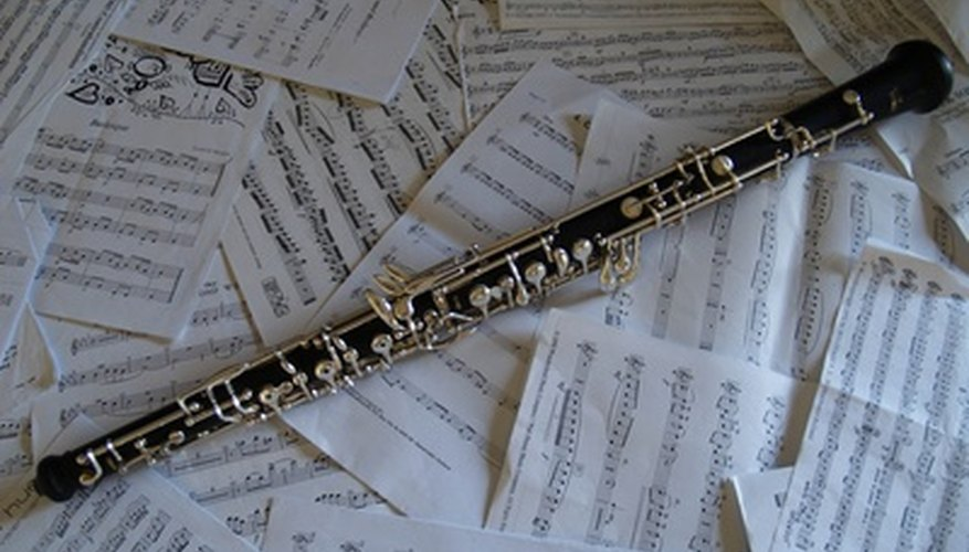A concert-pitch instrument such as an oboe plays the note written, but instruments such as the English horn play notes other than the ones written because of their internal key.