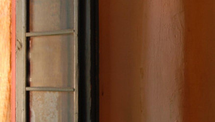 Spanish window treatments are very minimalist.
