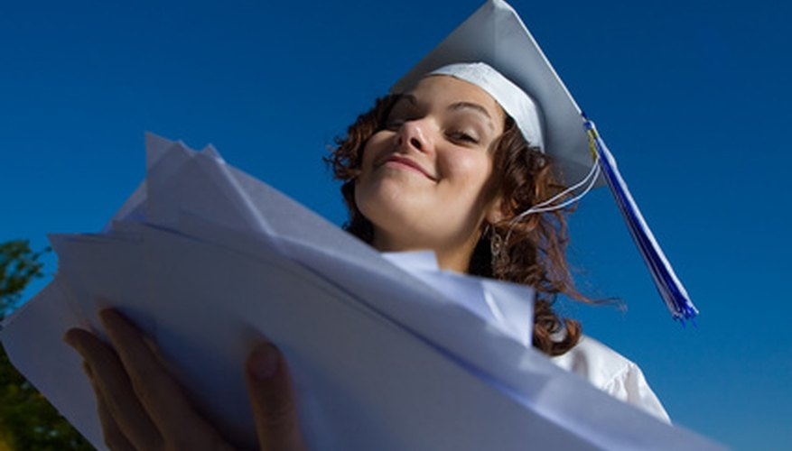 Scholarships are necessary for many students to graduate.