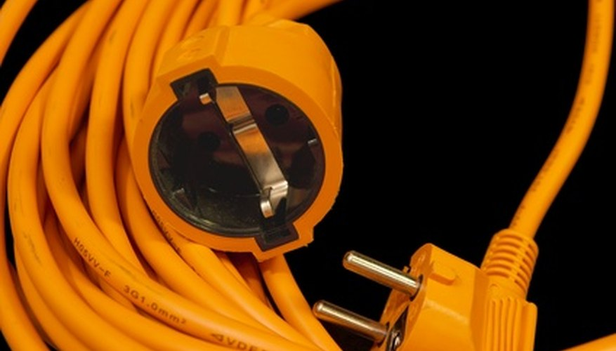 Extension cords exposed to water create a deadly shock hazard.