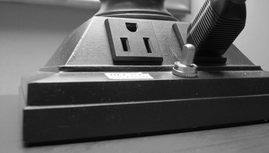 A power inverter typically has one or more electrical outlets.