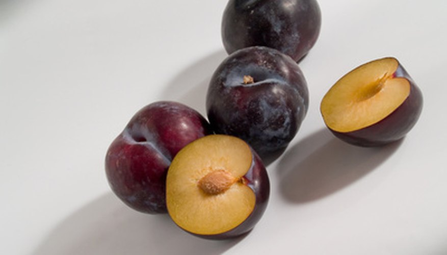 Stone fruits have single seeds, or pits