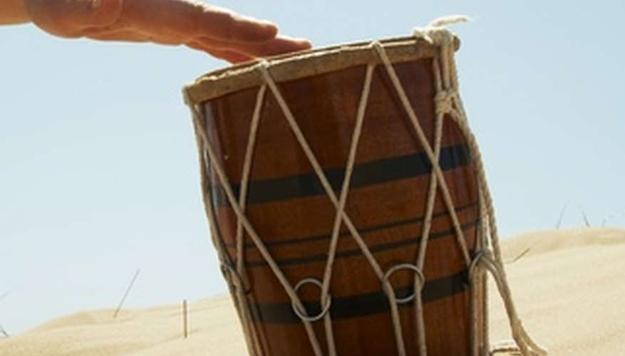 Tambora drums provide the rhythms of the Caribbean and Latin America.