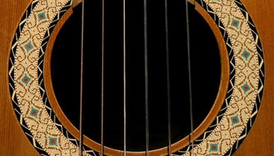 The Spanish guitar was one of the first to come to America.