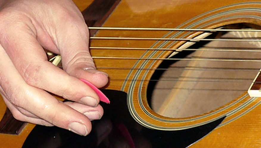 The guitar is a popular instrument for beginning musicians.