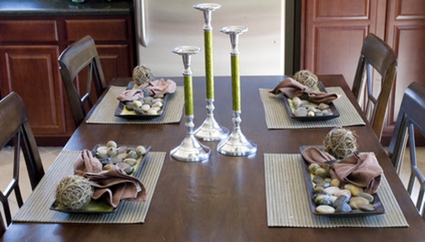 A restored and repaired dining room table is a beautiful addition to your home.