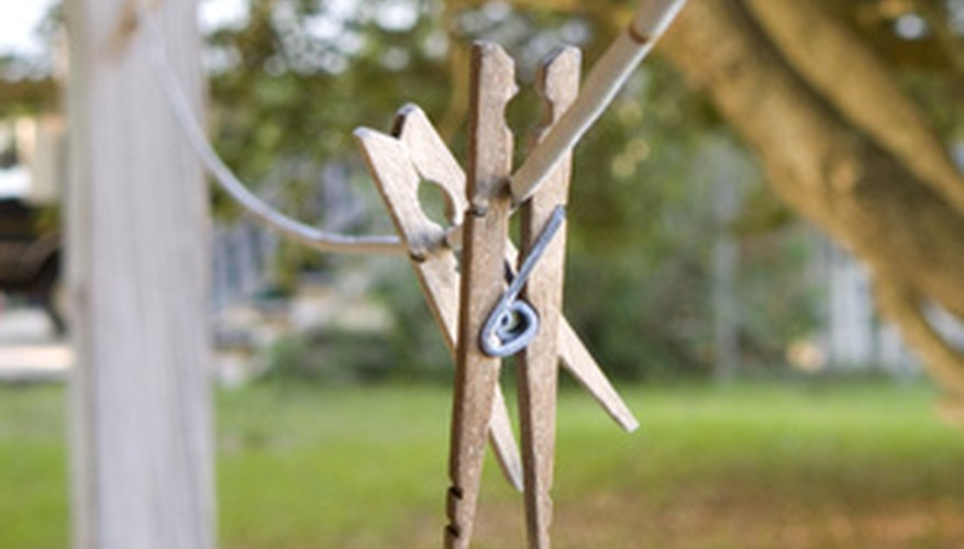 Clothesline is good for more than just hanging laundry.