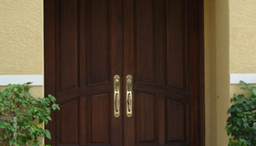 Doors make a statement about your home so keep them beautiful through maintenance.
