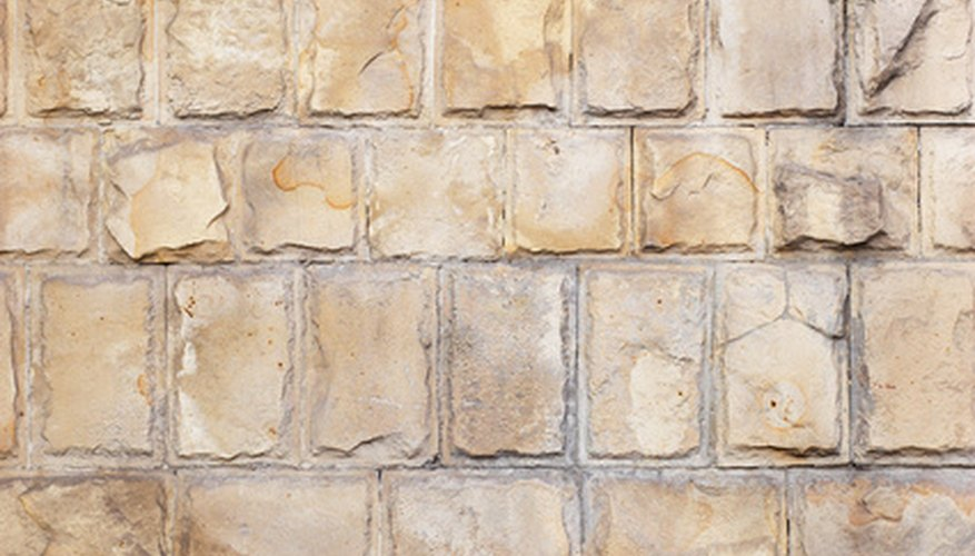 """Limestone comes in """"soft earthy colors."""""""