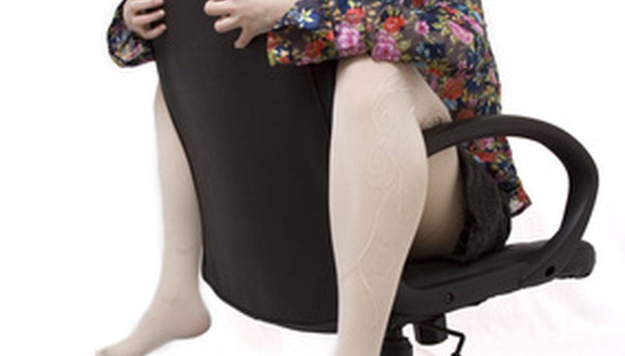 The armrests of an office chair suffer a lot of abuse. However, they can be easy to replace.