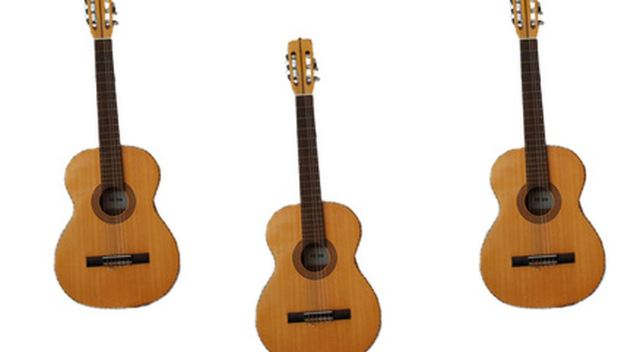 Philippine guitars are similar to Spanish guitars.