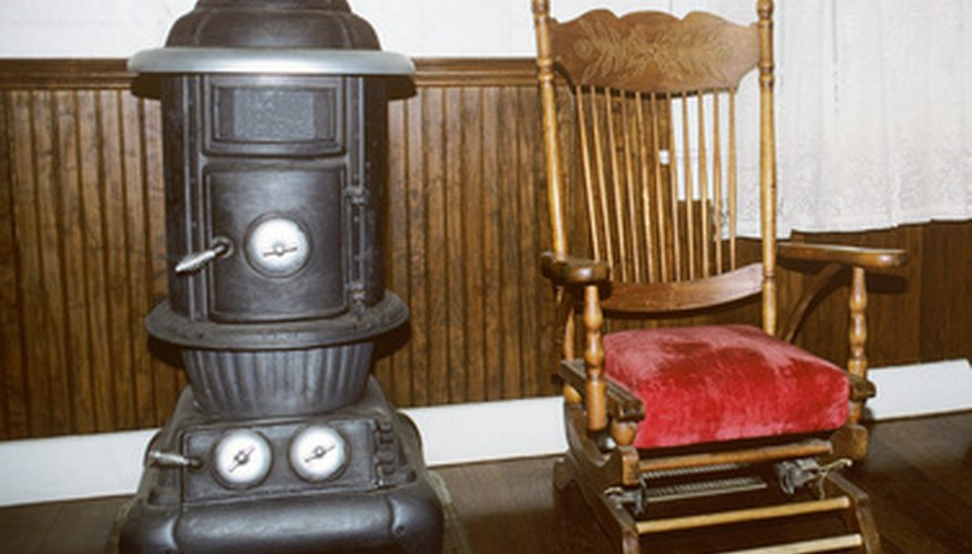 The potbelly wood stove is a staple of American history.