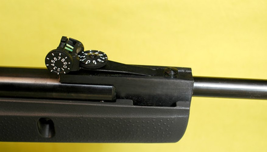 How to Adjust Ramp Sights on a Rifle