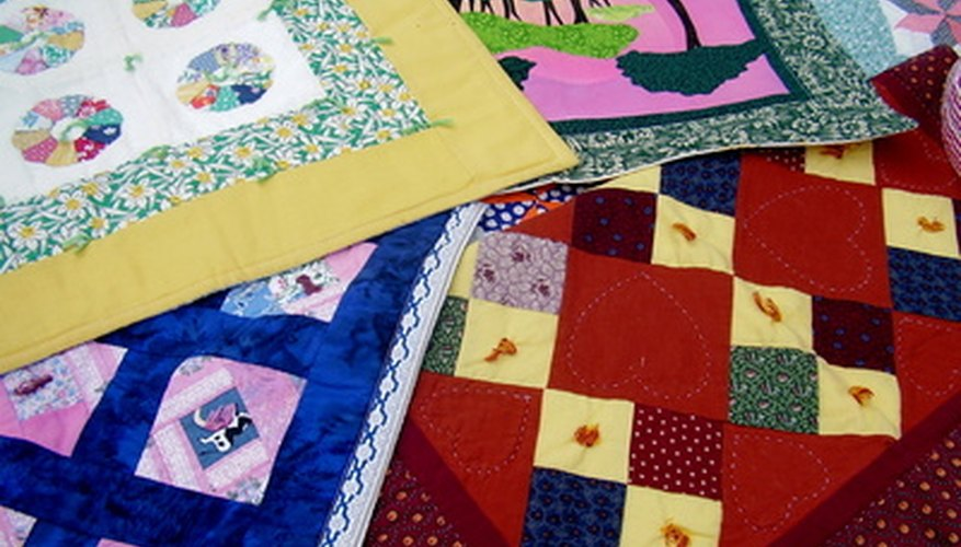 Prayer quilts look like ordinary quilts, but mean more.