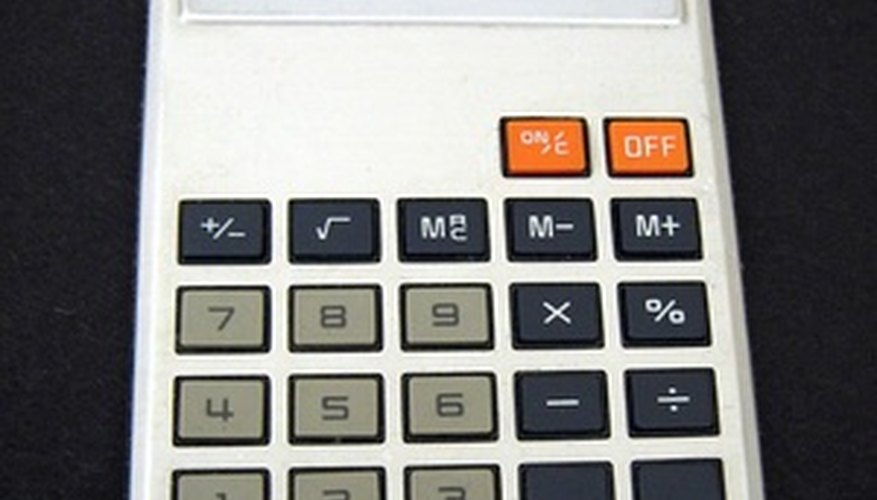 Using a calculator makes figuring a weighted total fairly simple.