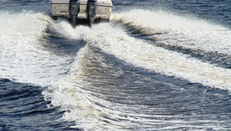 Boaters often purchase two-cycle engines for their light weight and high power.