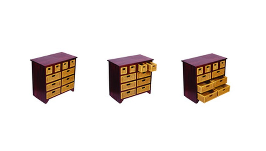Placing drawers in your direction also provides extra storage.