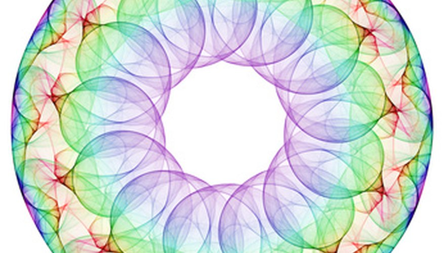 Create complex geometric designs with string art.
