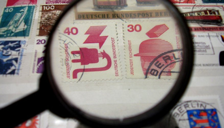 Hand-stamping is still done at some post offices.