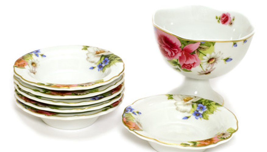 Antique dishes can be very valuable to collectors.