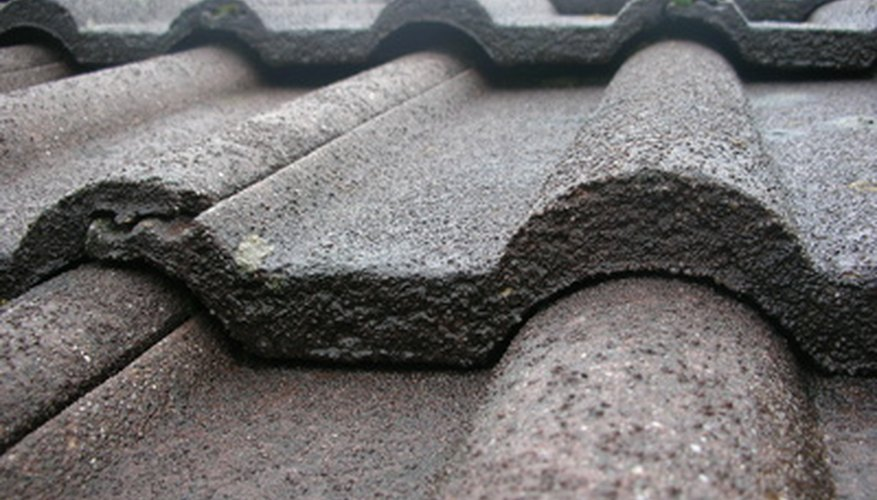 The surface of concrete shingles feels similiar to a patio paver.